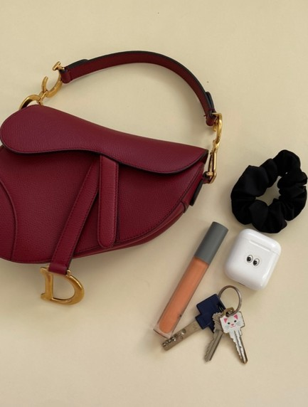 Find Your Fit: The Christian Dior Saddle Bag